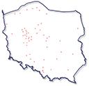Obszar dostaw: pozostałe miasta Polski